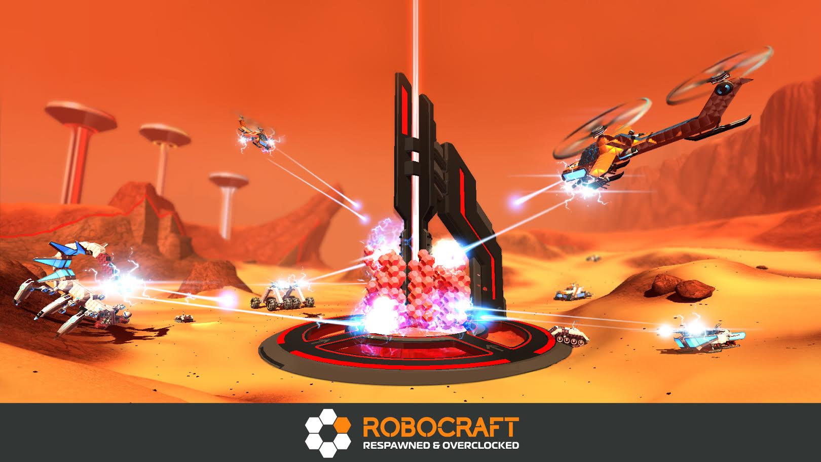 Robocraft Gets In-Game Voice Chat through Curse Voice ...