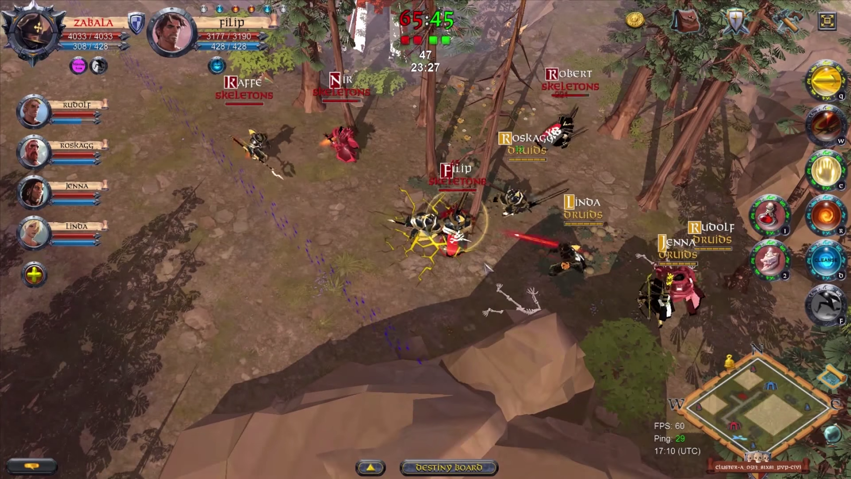 playing albion online