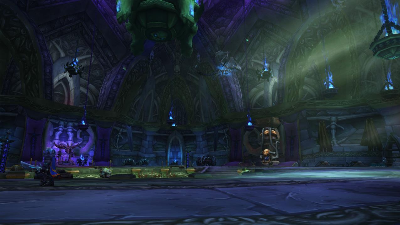 Archerus: The Ebon Hold Death Knight Class Hall in World of Warcraft Legion