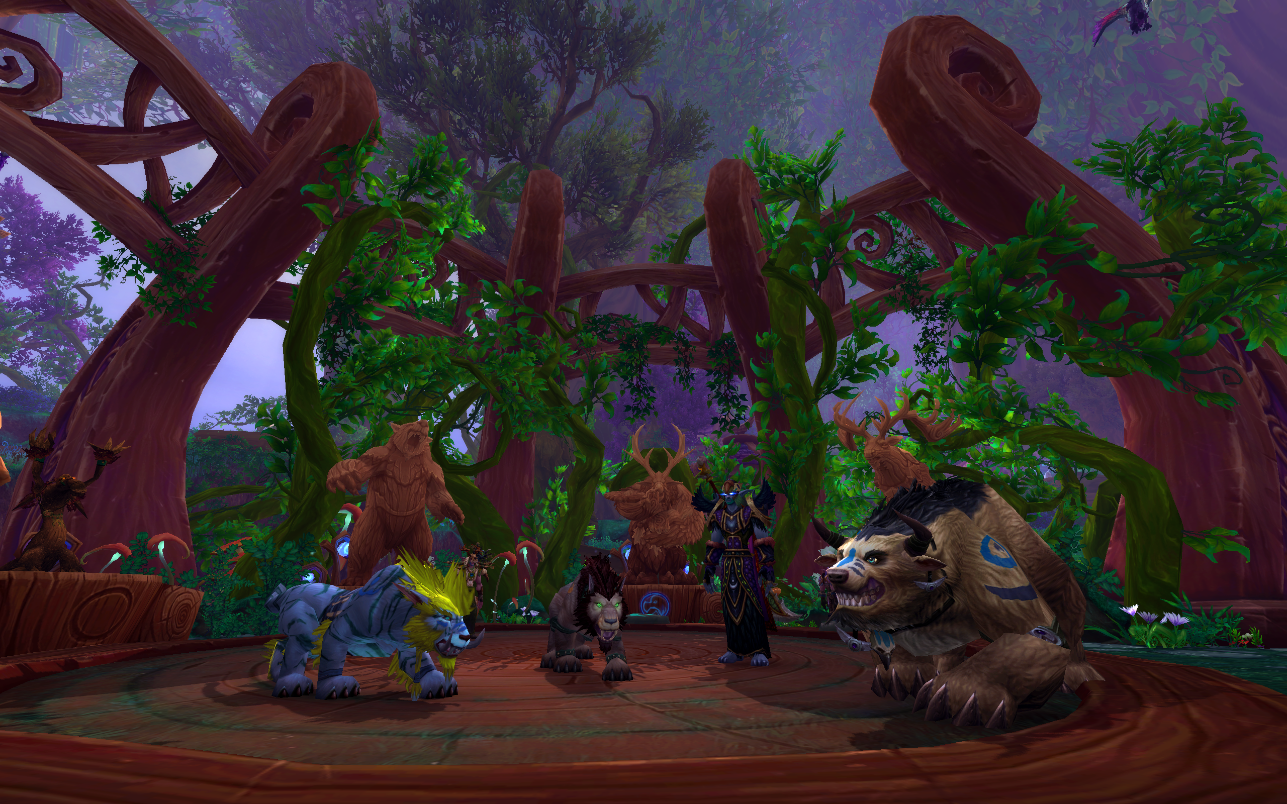Dreamgrove Druid Class Hall in World of Warcraft Legion