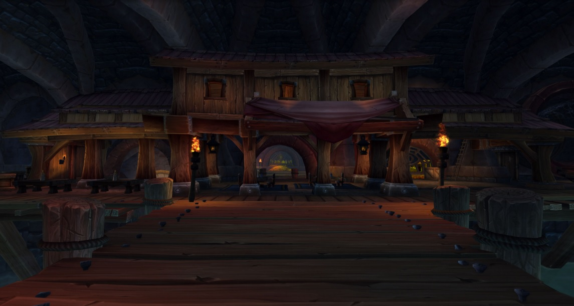 Hall of Shadows Rogue Class Hall in World of Warcraft Legion