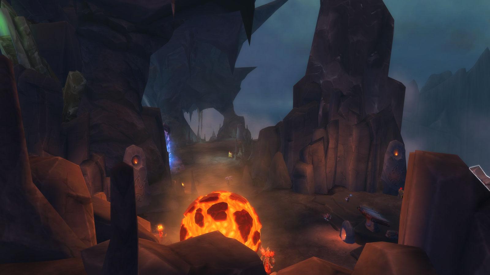 Heart of Azeroth Shaman Class Hall in World of Warcraft Legion