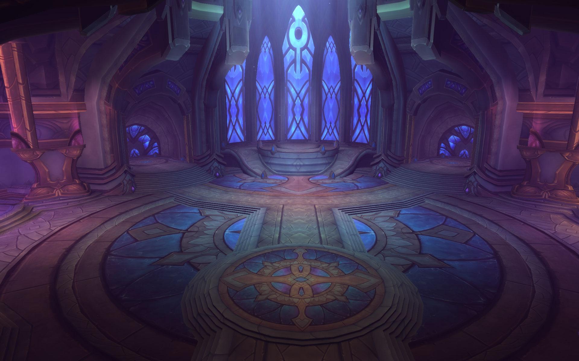 Netherlight Temple in world of Warcraft Legion
