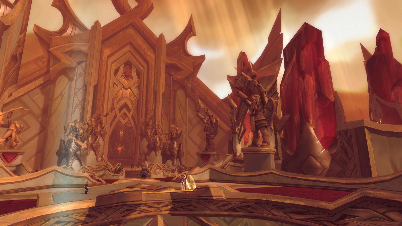 Skyhold Warrior Class Hall in World of Warcraft Legion