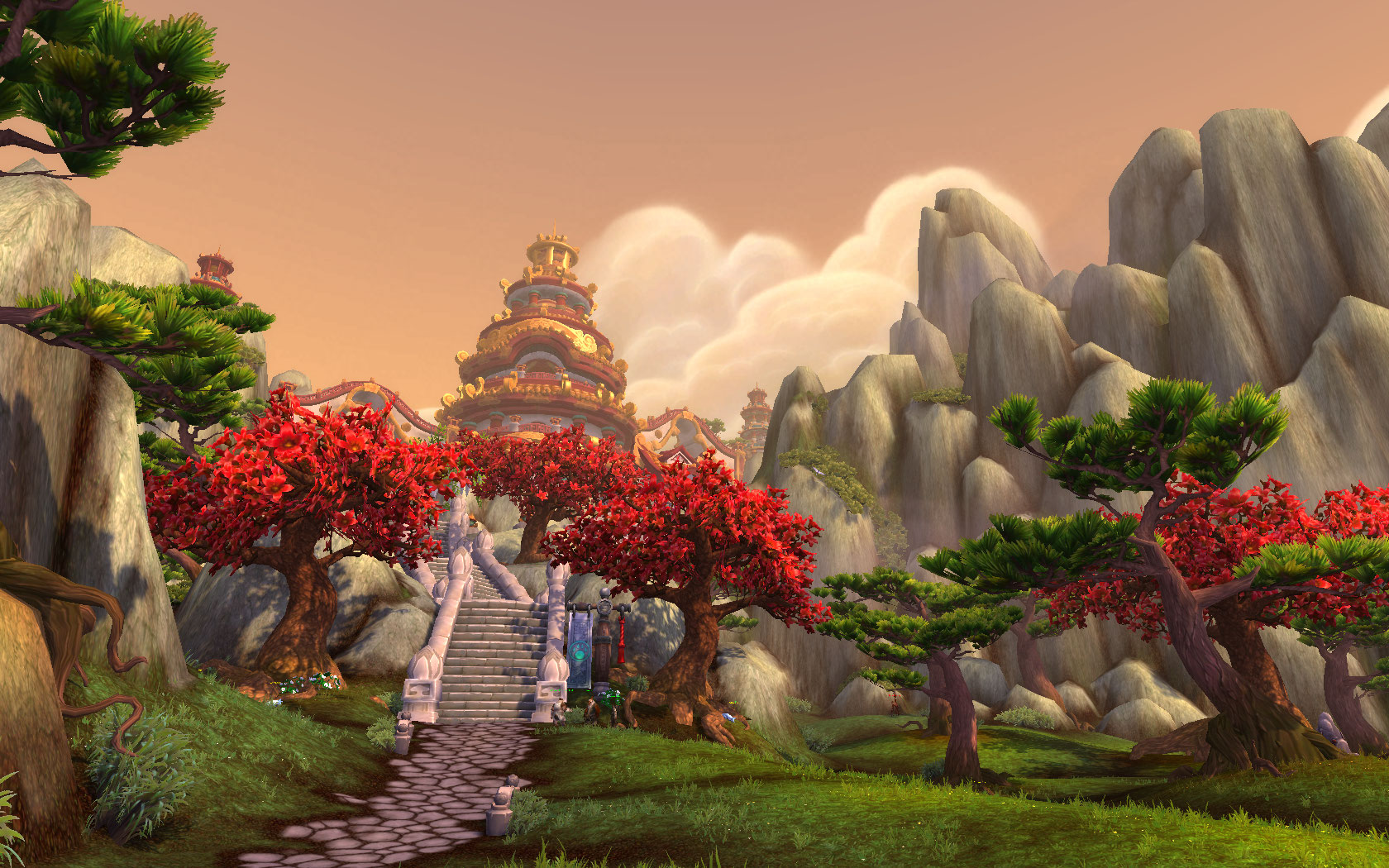 Temple of the Five Dawns Monk Class Hall in World of Warcraft Legion