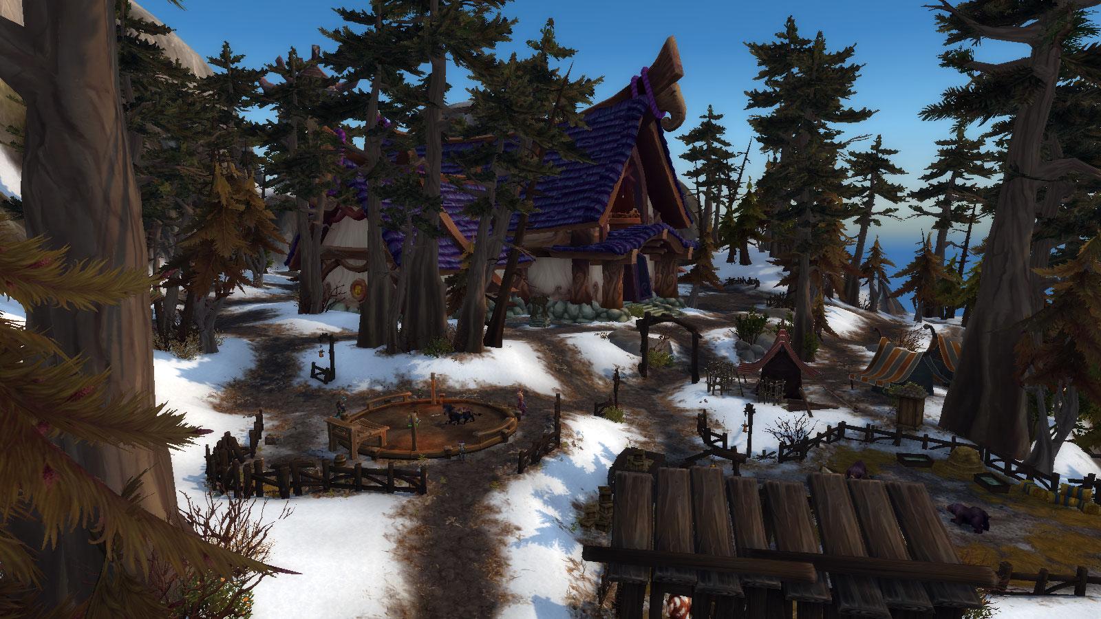 Trueshot Lodge Hunter Class Hall in World of Warcraft Legion