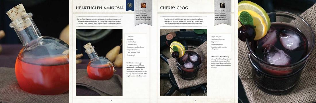 World of Warcraft Cookbook Drinks