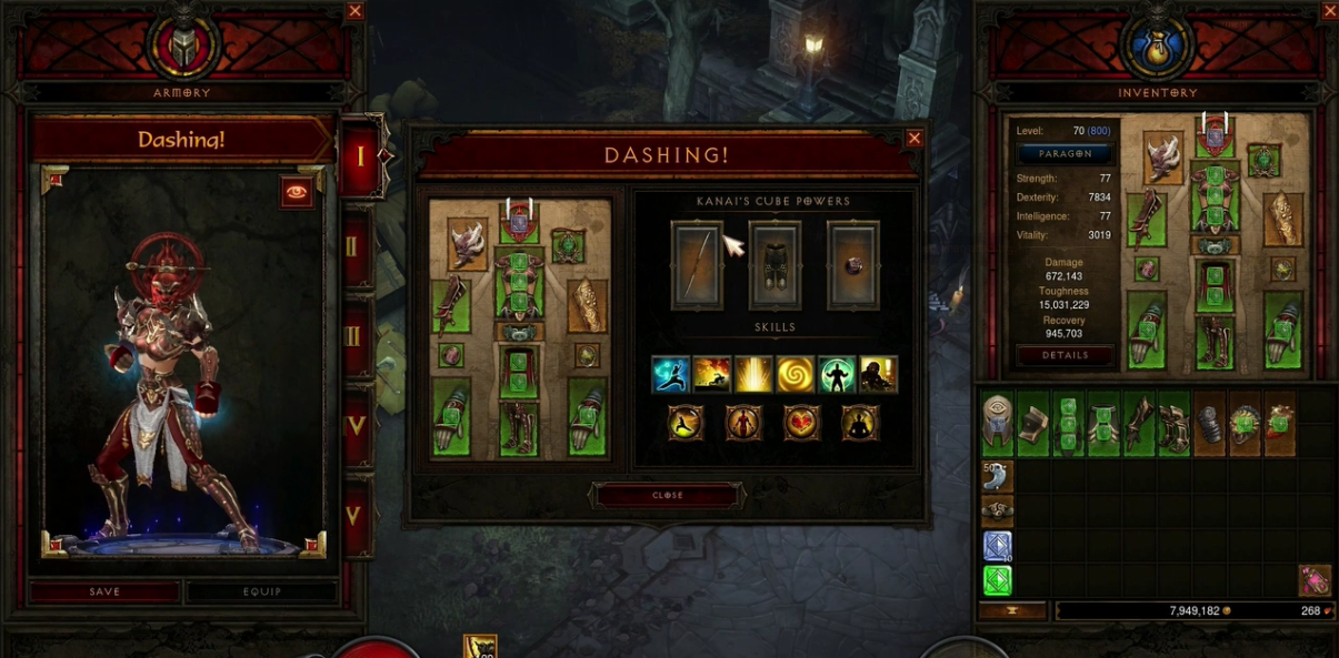 The Armory feature for Diablo 3 Announced at BlizzCon