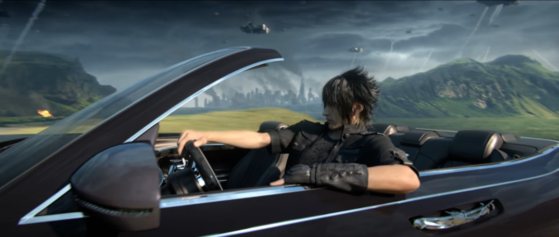 FFXV Brings a Modern Setting to the Final Fantasy Series