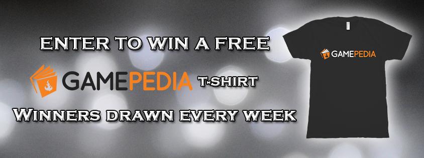 Gamepedia Free-shirt Giveaway