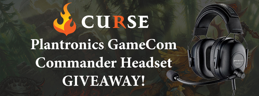 Plantronics GameCom Commander Headset Giveaway!