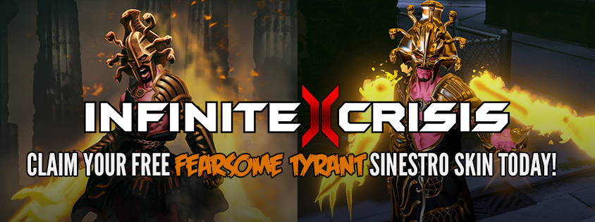 'Fearsome Tyrant' Infinite Crisis Skin Giveaway