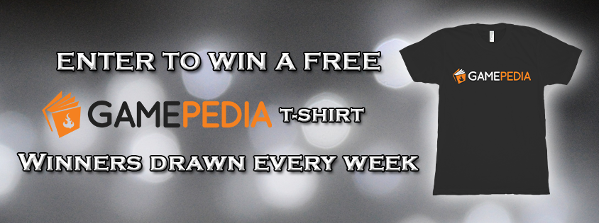 Gamepedia Free-shirt Giveaway