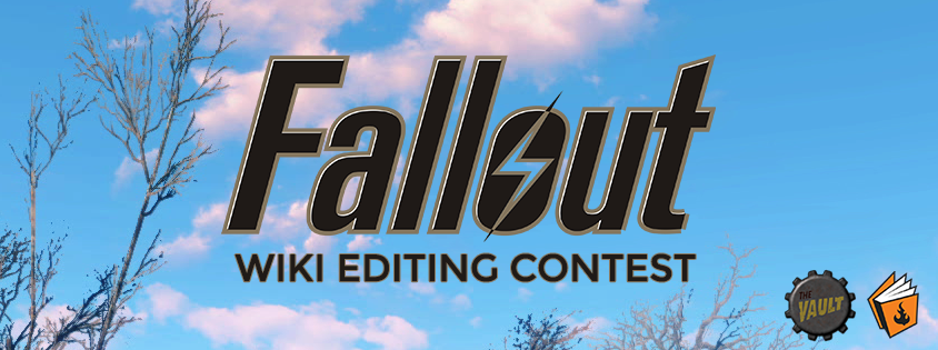 Fallout Wiki Editing Contest