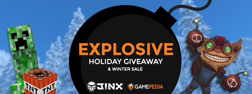 Explosive Holiday Giveaway