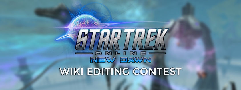 Star Trek Online Wiki Editing Contest