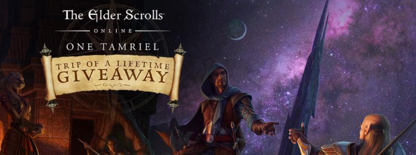 The Elder Scrolls Online: One Tamriel Trip of a Lifetime Giveaway