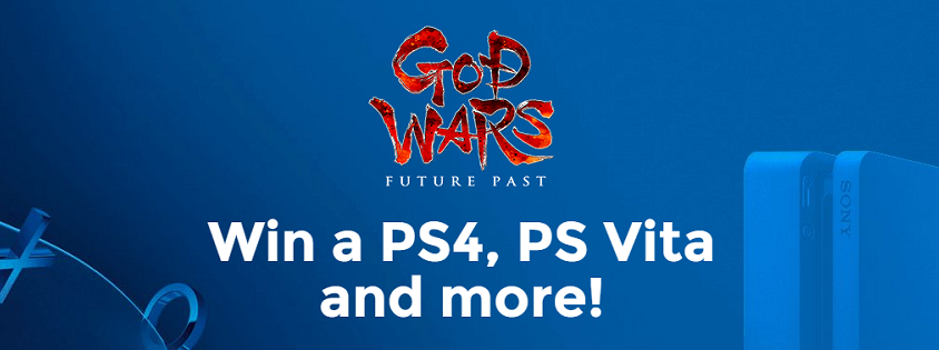 GOD WARS PS4, PS Vita & Game Giveaway