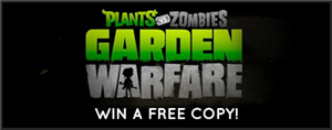 Garden Warfare Wiki Game Giveaway
