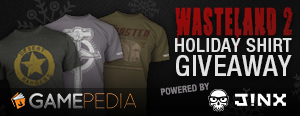Wasteland II Holiday Shirt Giveaway