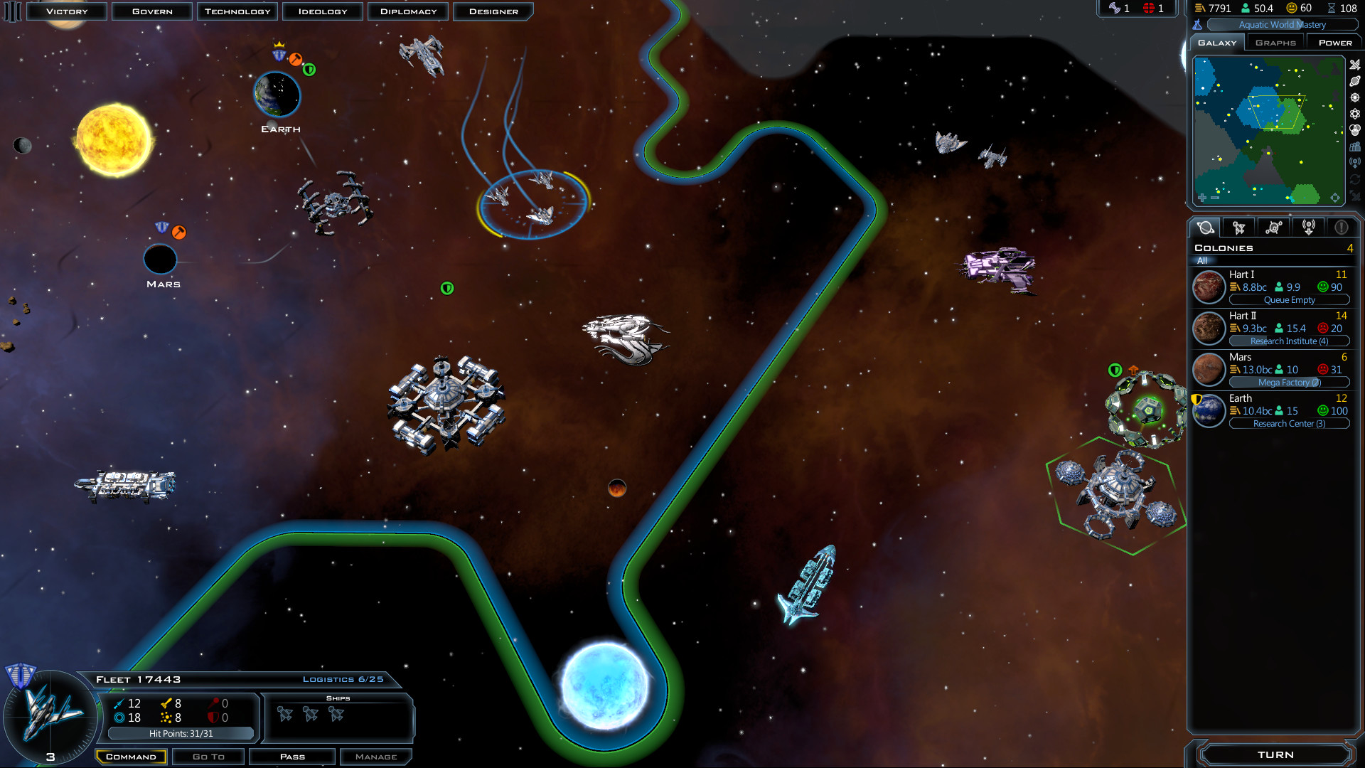 Galactic Civilizations III full game free pc, download, play
