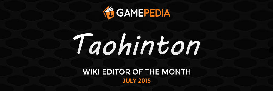 Editor of the Month