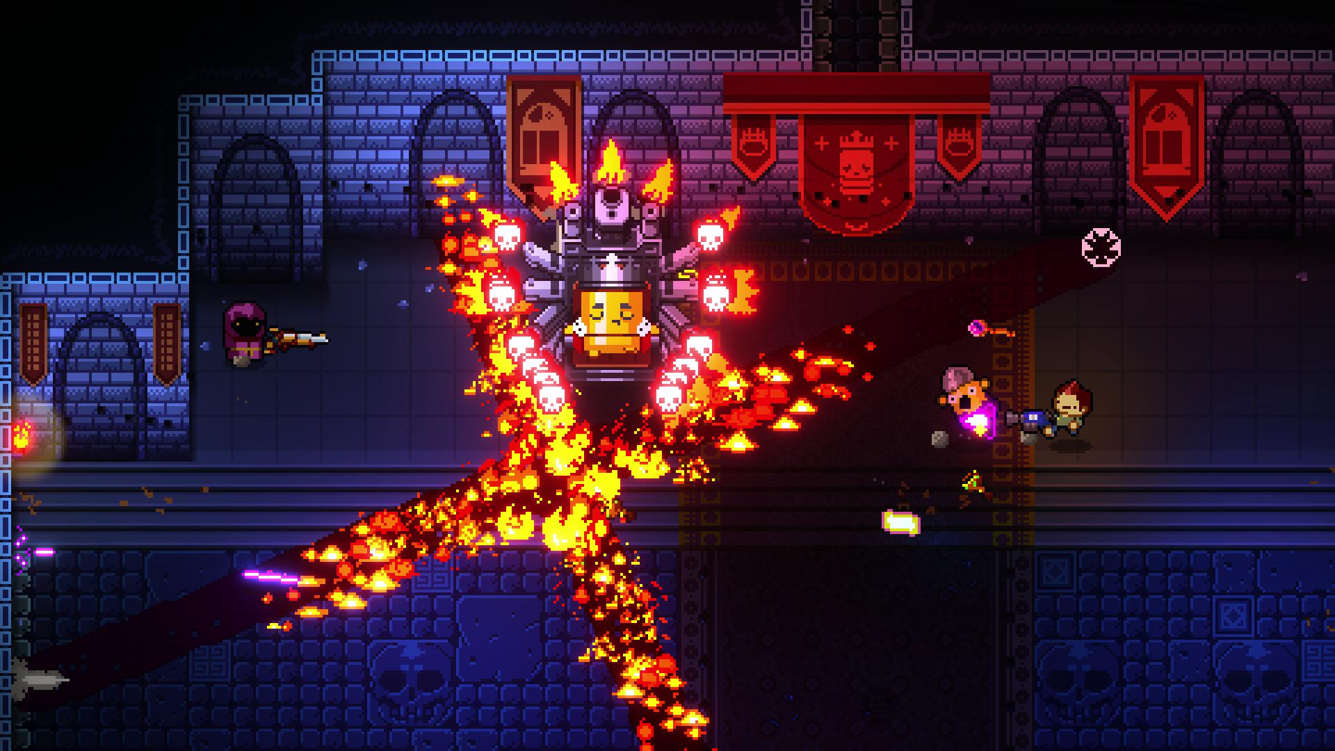 Enter the Gungeon gameplay