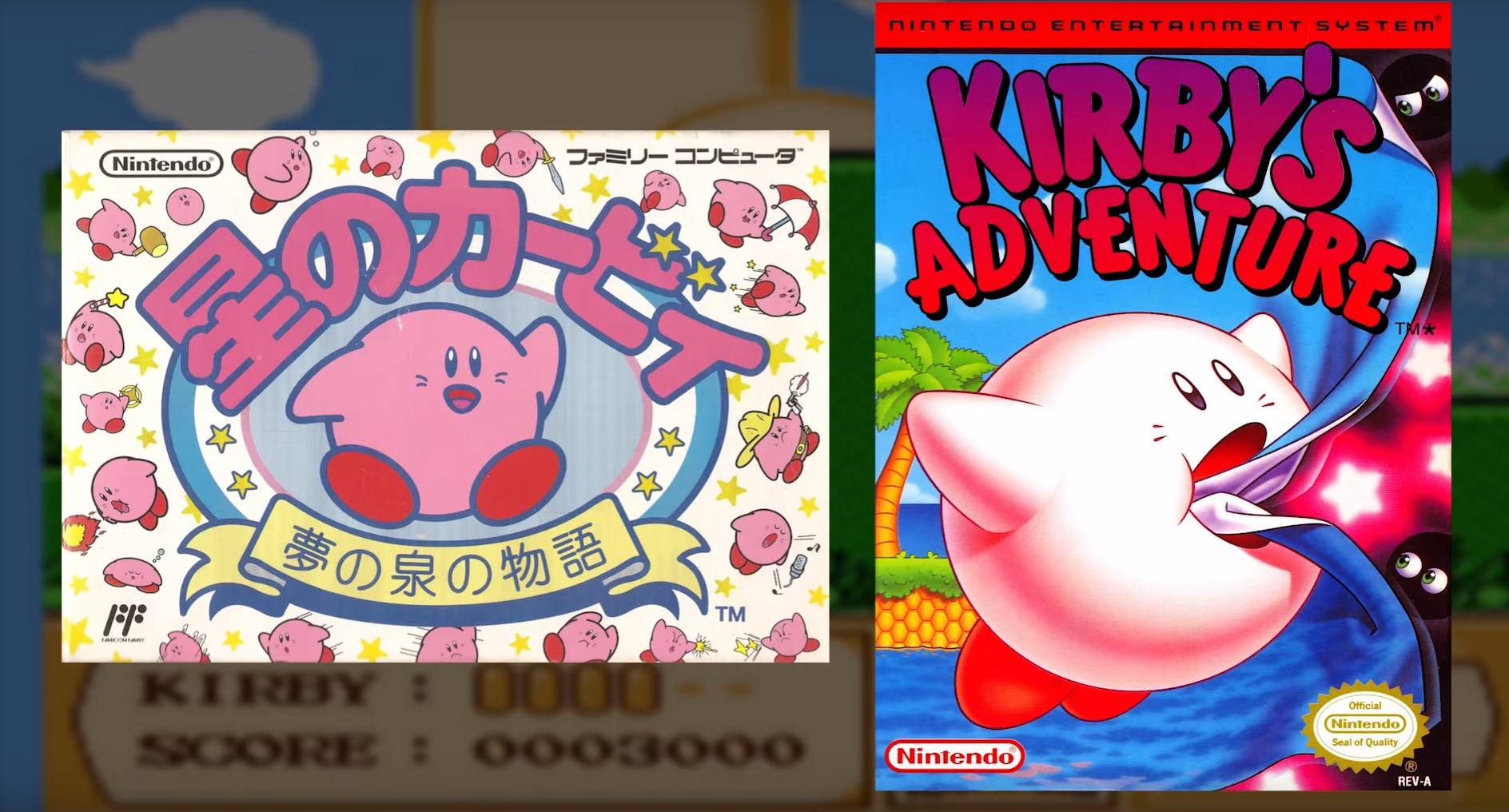 Kirby and Tinkle Popo in Nintendo History
