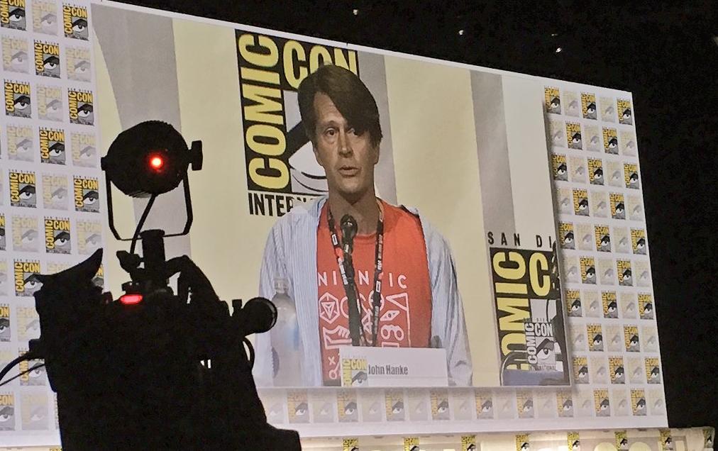 John Hanke speaking at Comic-Con about Pokemon GO