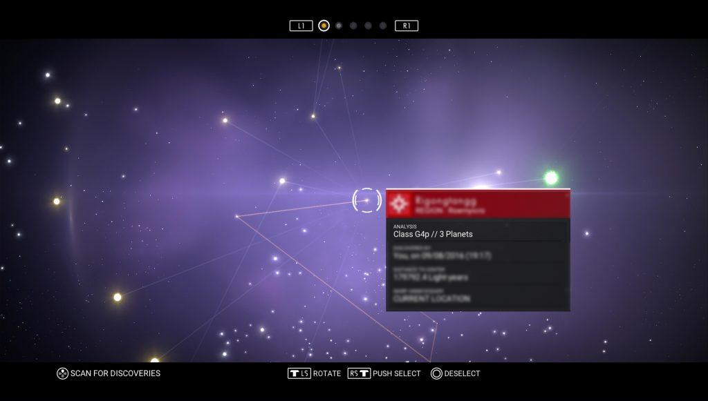 No Man's Sky Star System Class