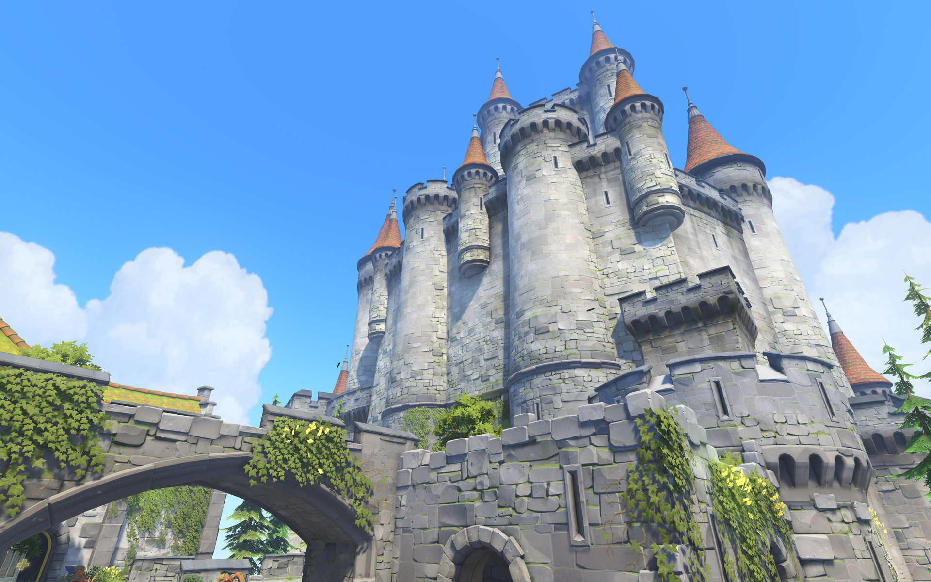 Overwatch New Map Eichenwalde