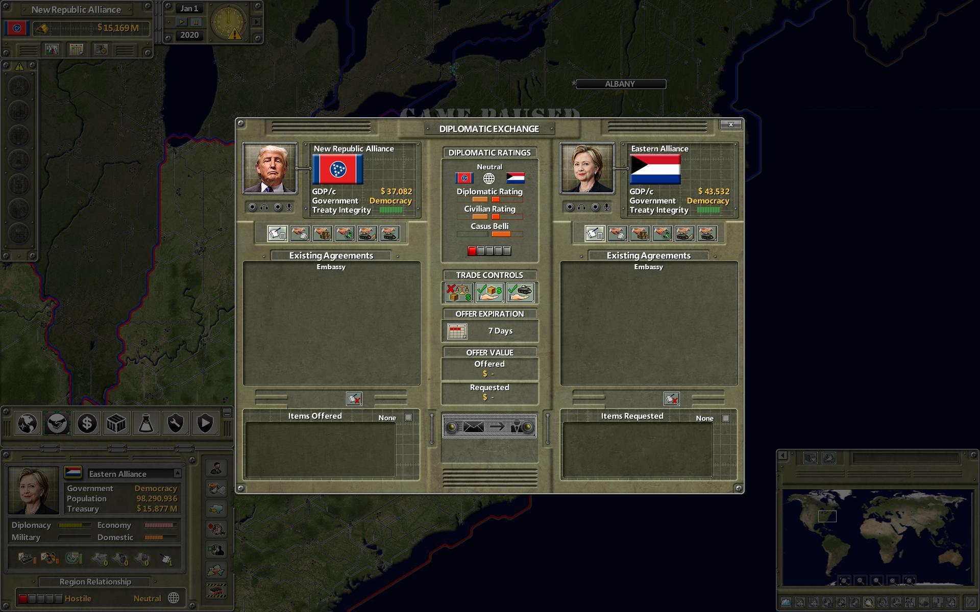Supreme Ruler Ultimate screenshot