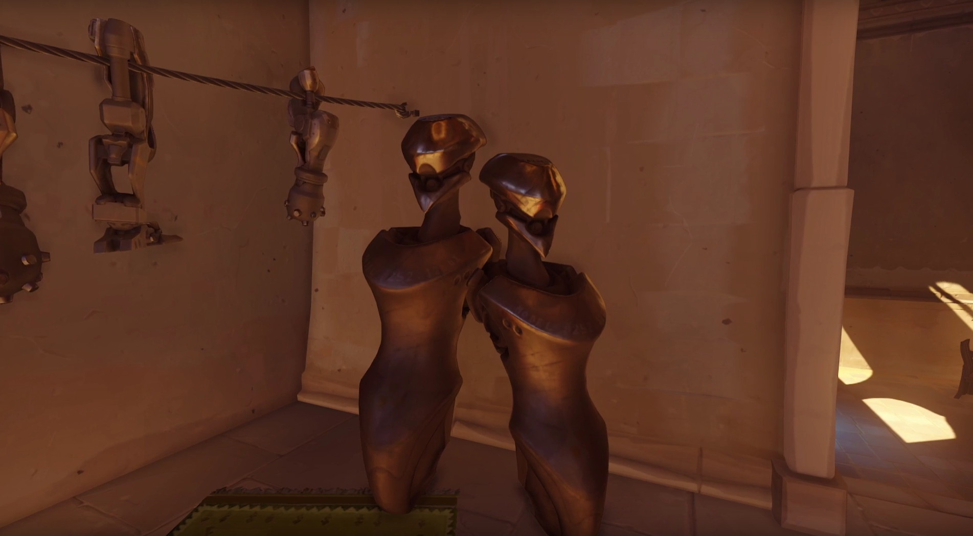 Athena Omnic Torso in Temple of Anubis