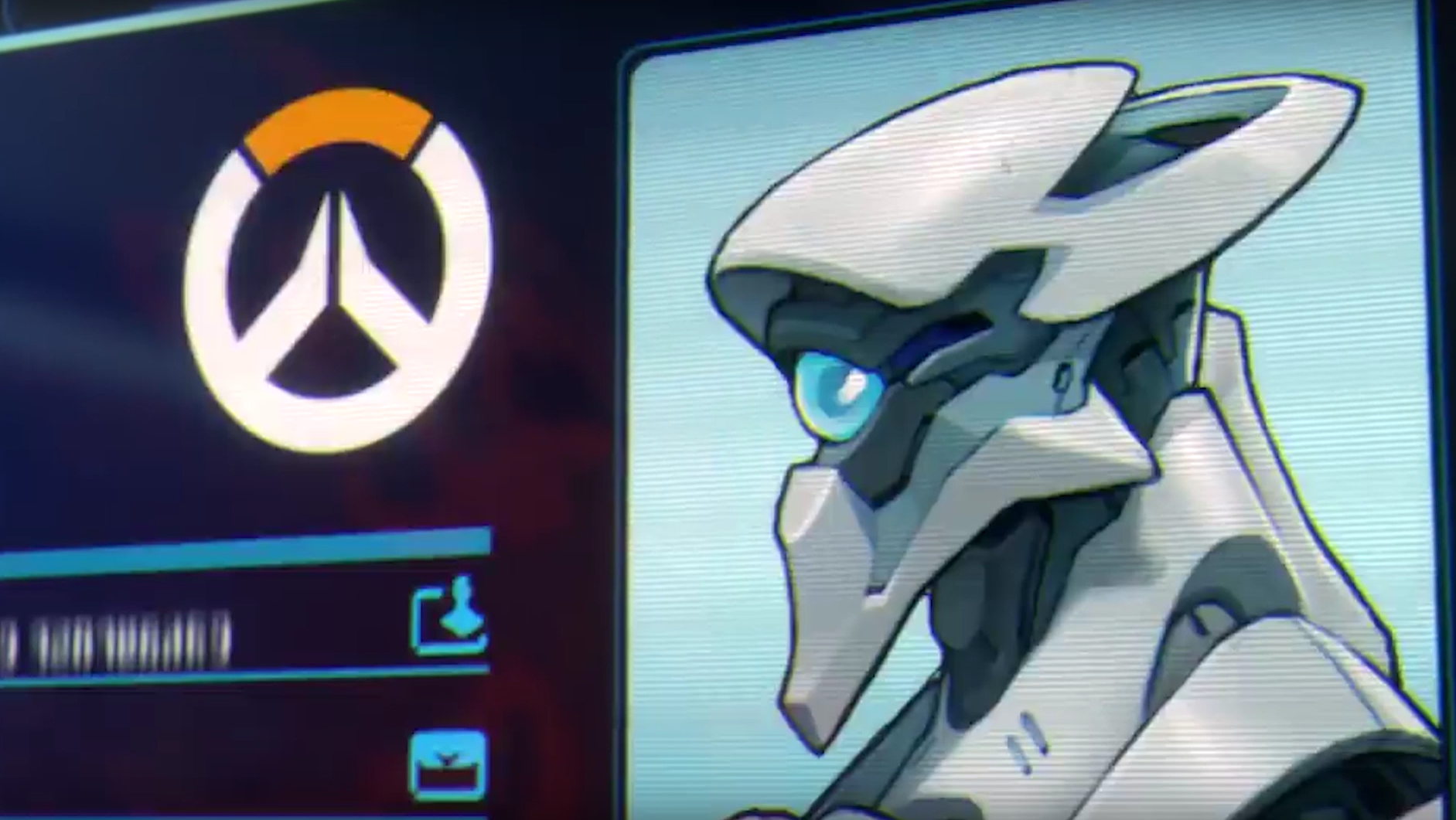 Omnic Overwatch Hero in Recall Short - Possibly Athena