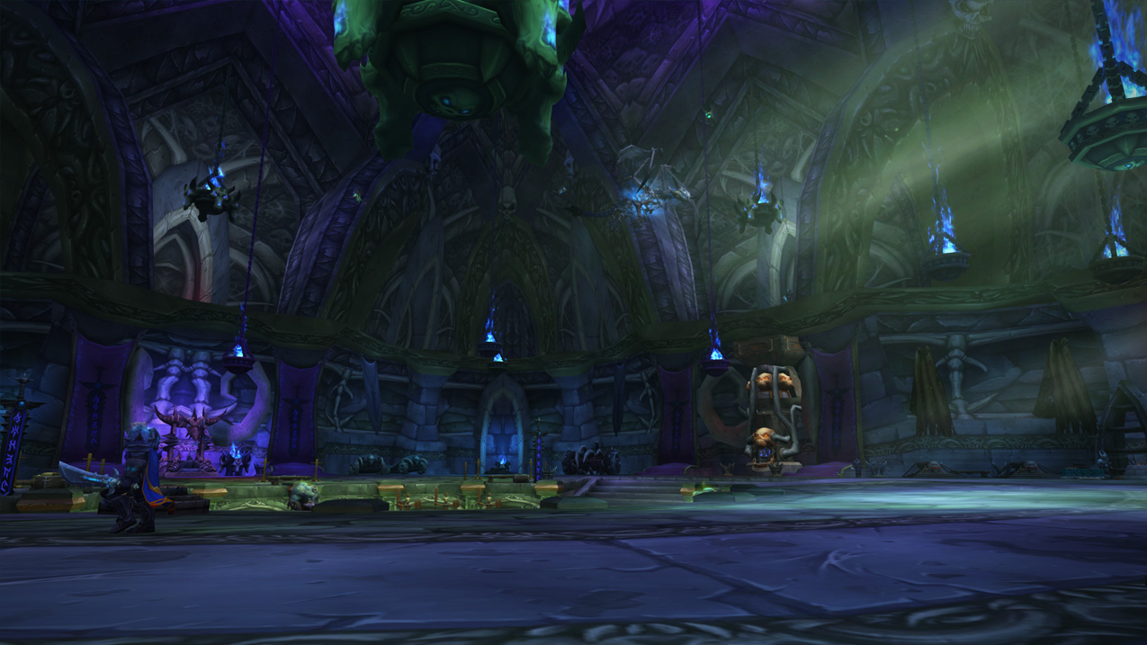 Archerus: The Ebon Hold Death Knight Class Hall in World of Warcraft Legion