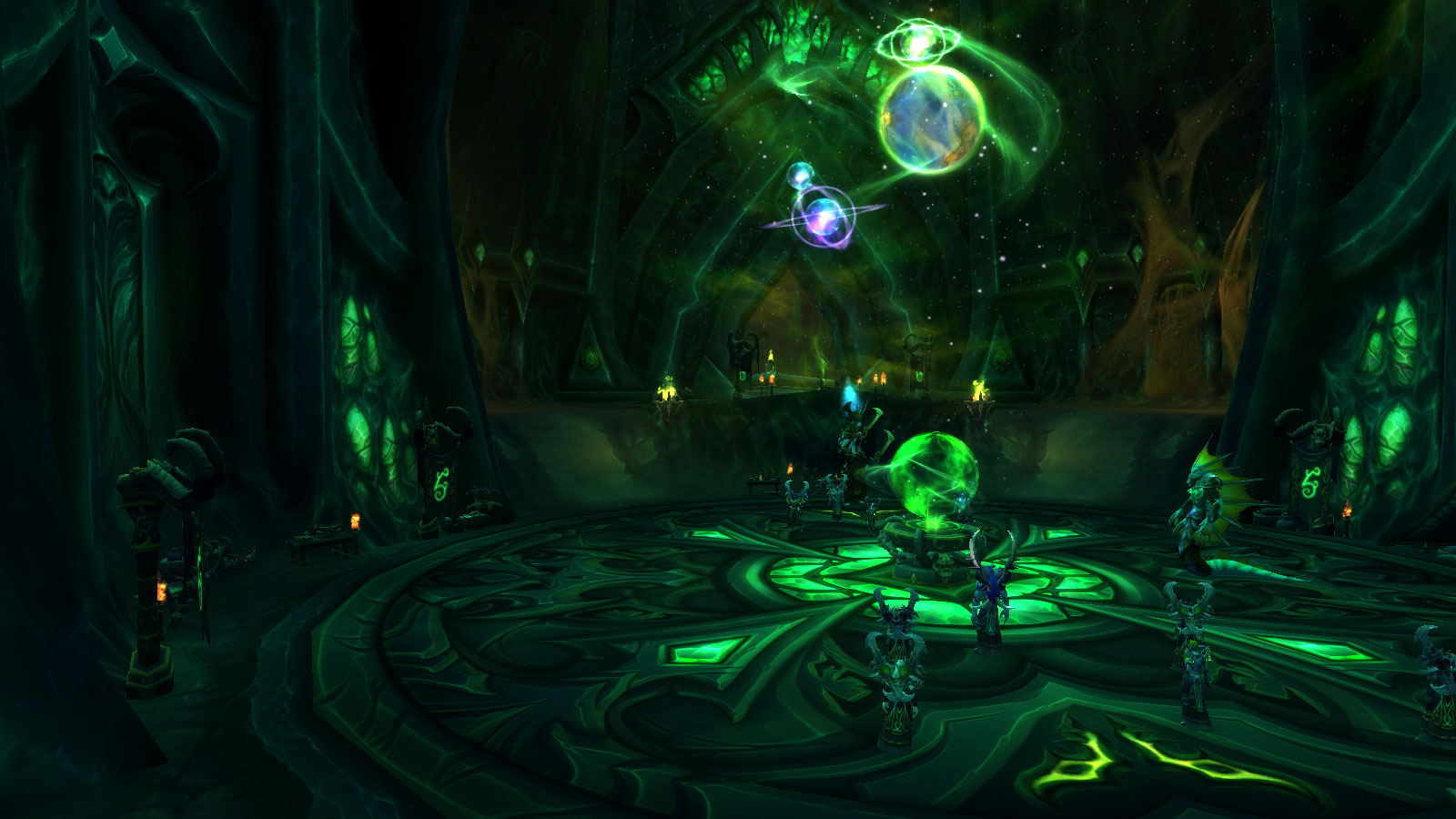 Fel Hammer Demon Hunter Class Hall in World of Warcraft Legion