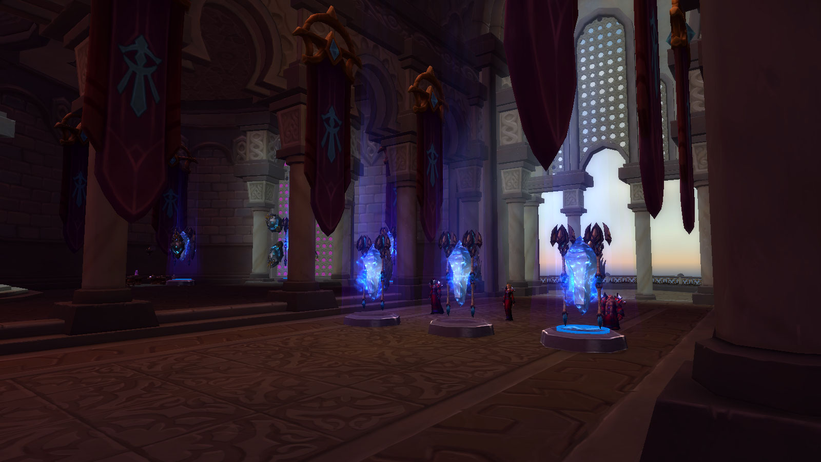 Hall of the Guardian Class Hall in World of Warcraft Legion