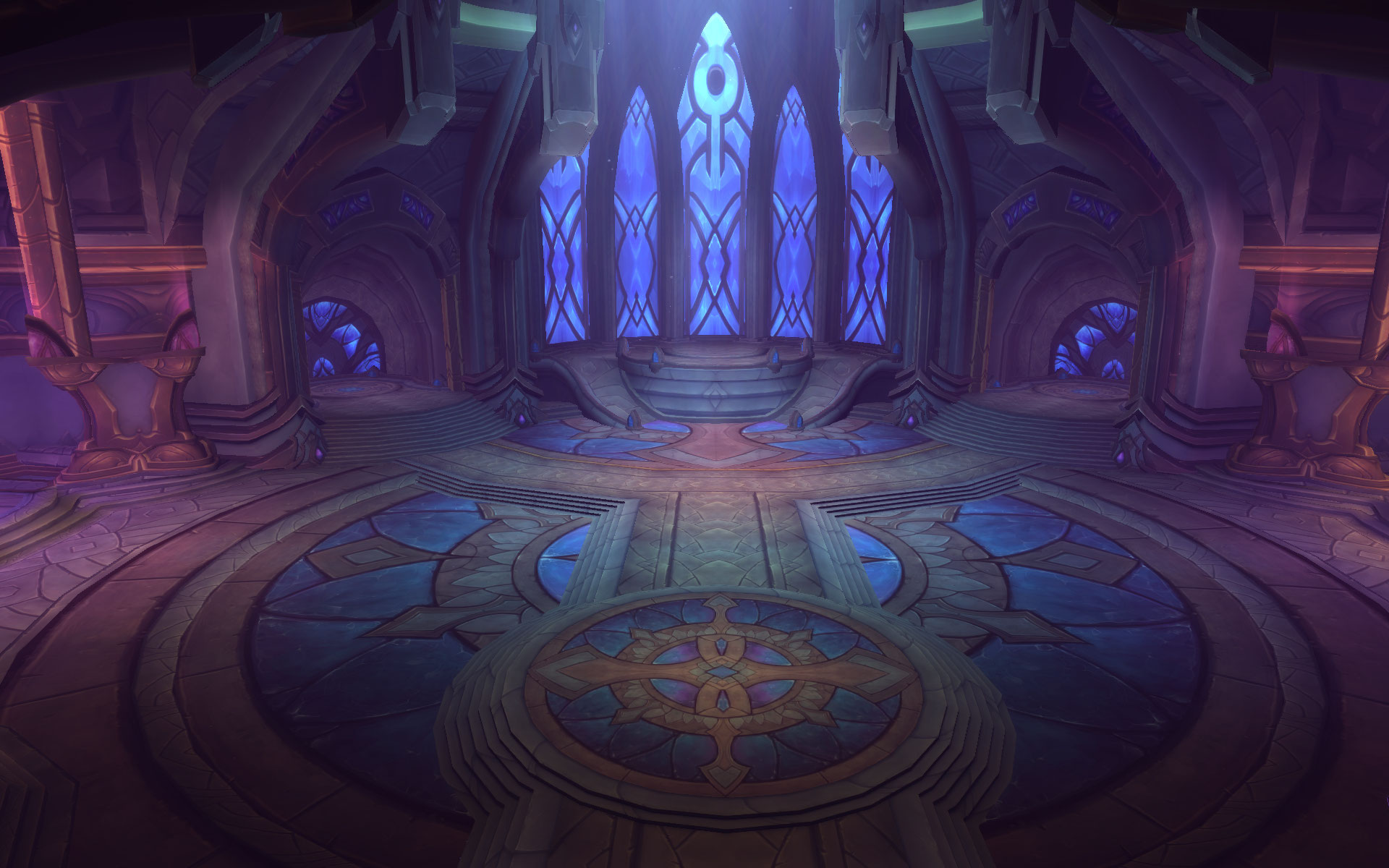 Netherlight Temple in world of Warcraft Legion