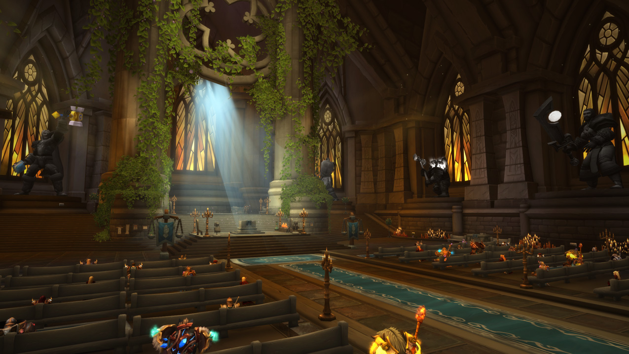 Sanctum of Light Class Hall in World of Warcraft Legion