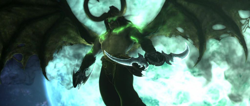 Illidan was transformed into a demon using the Skull of Gul'dan