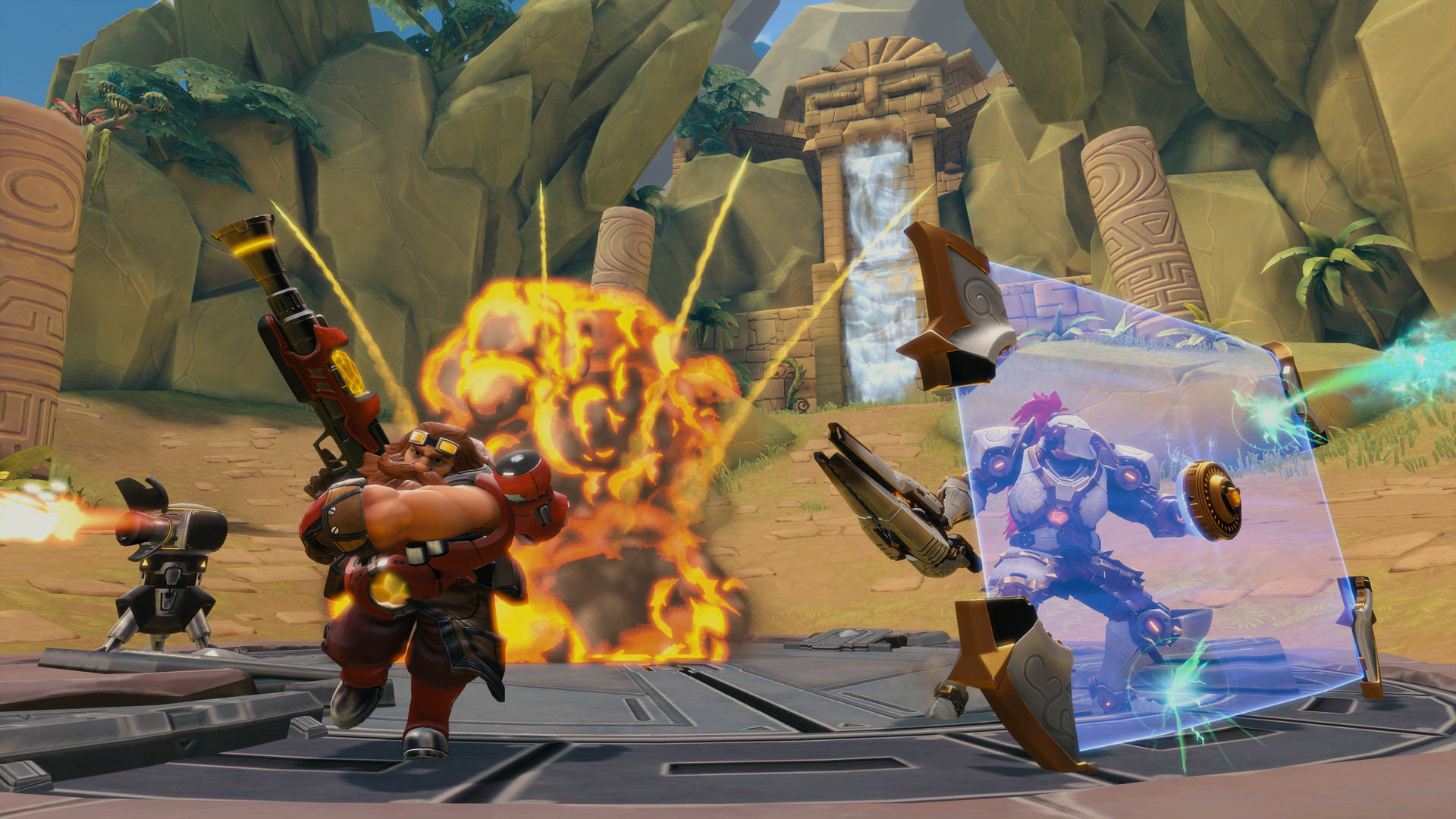 Paladins is F2P on Steam Right Now