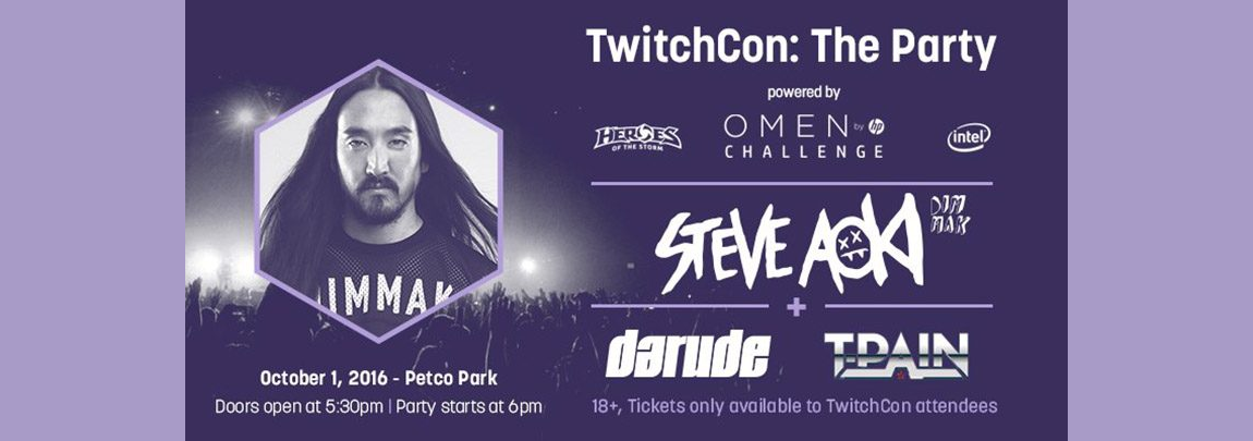 TwitchCon: The Party