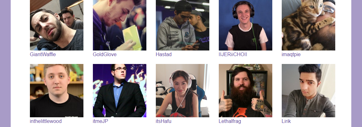 Top streamers from Twitch will be attending TwitchCon 2016