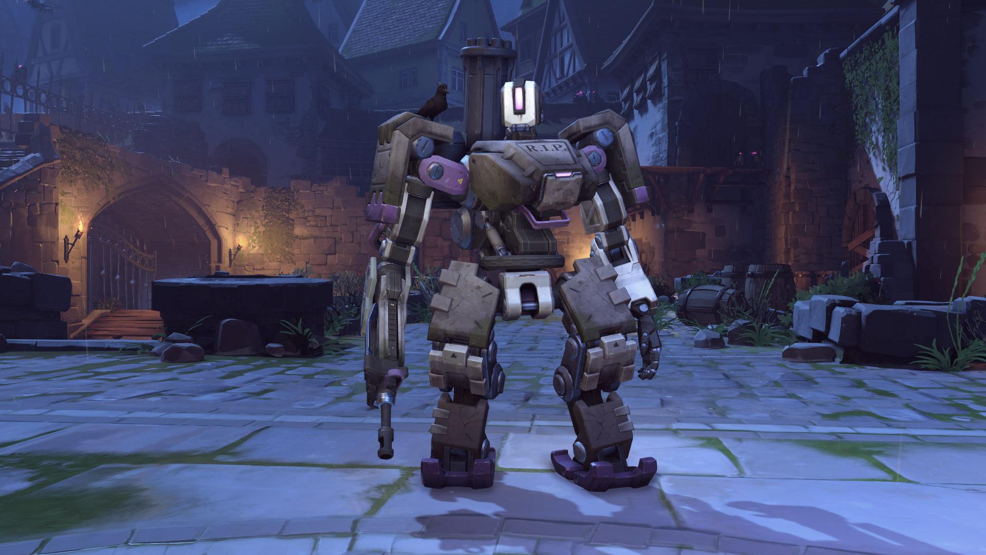 Bastion Overwatch Halloween Skin