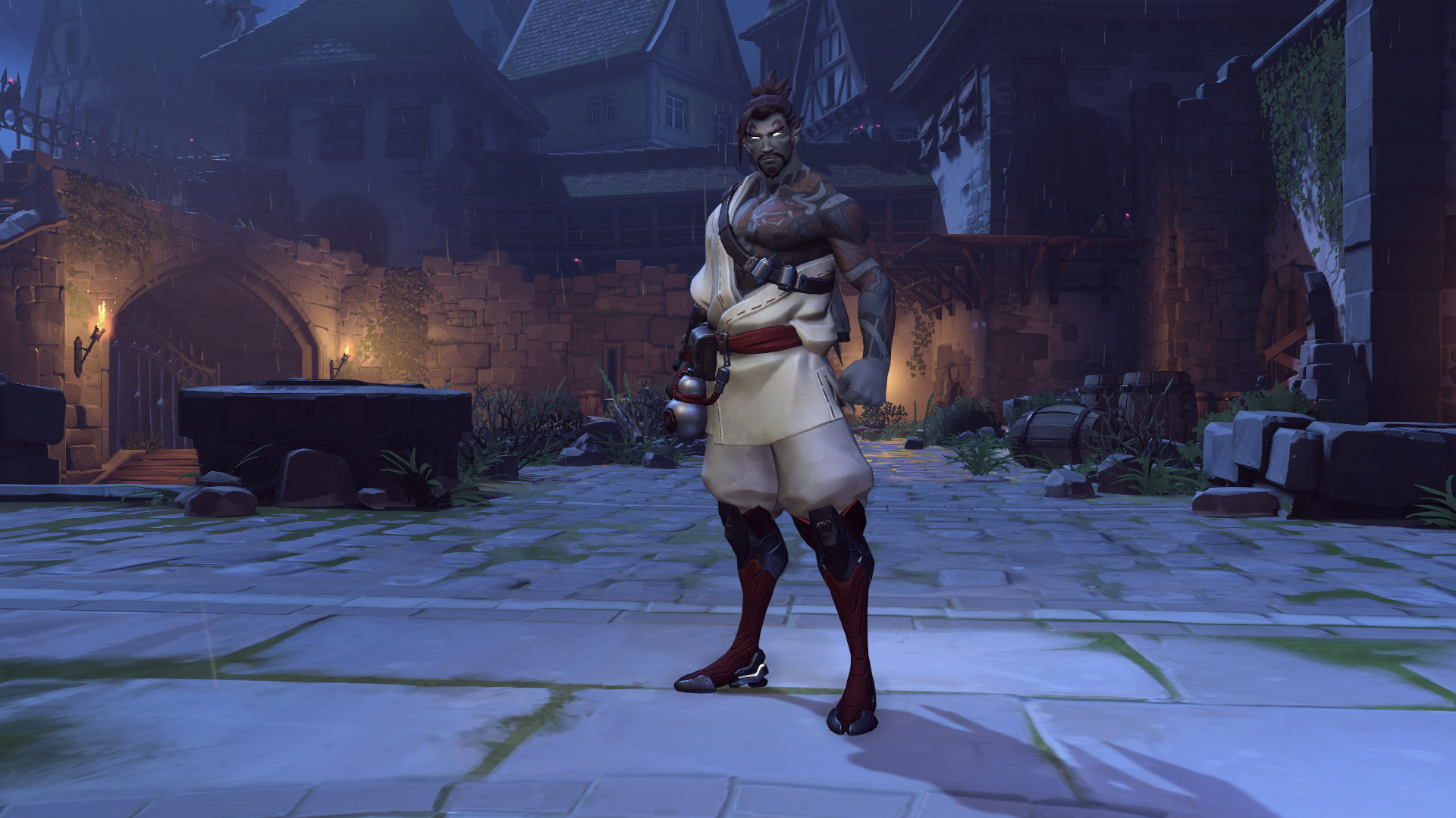 Hanzo Overwatch Halloween Skin