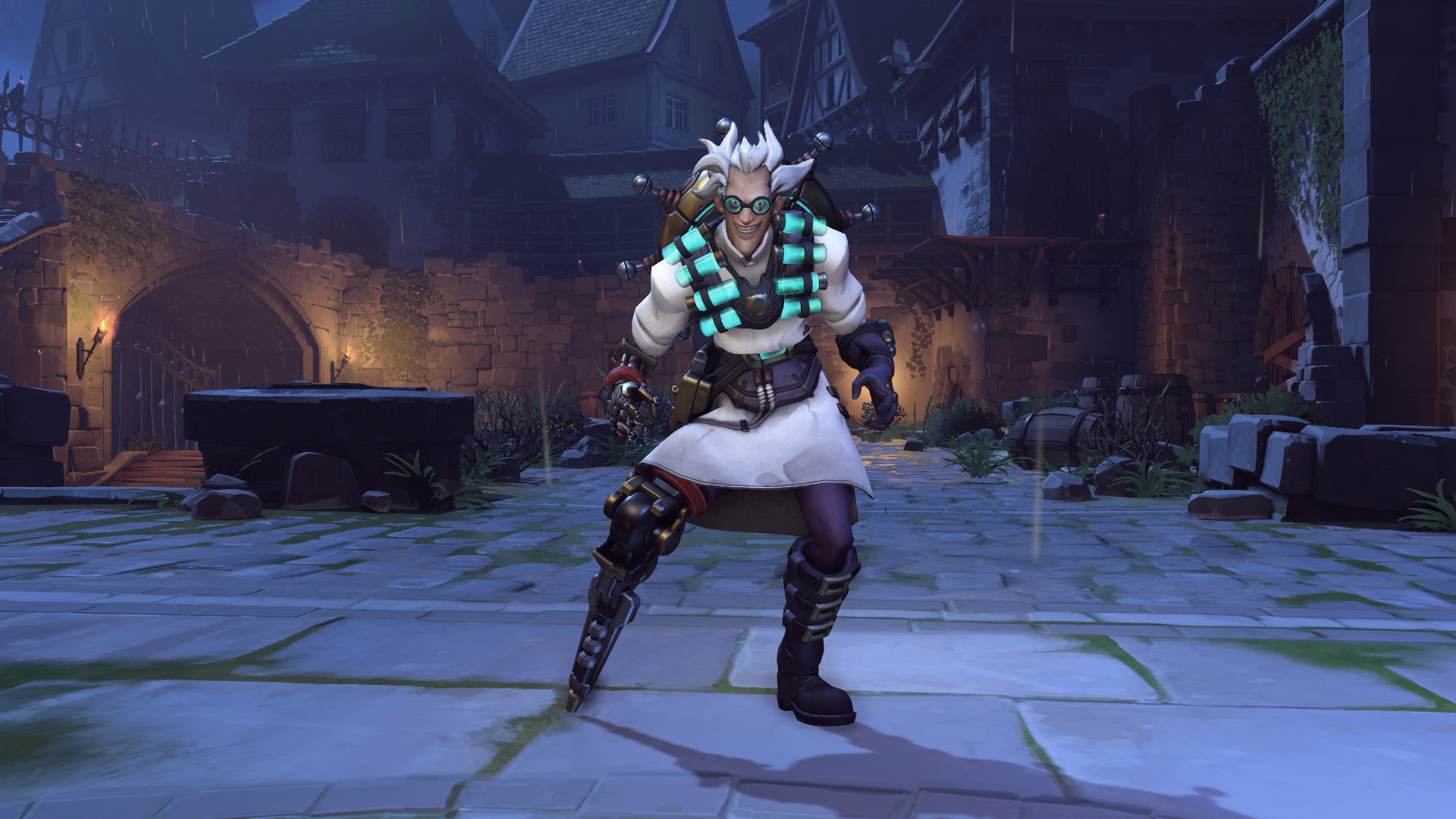 Junkrat Overwatch Halloween Skin