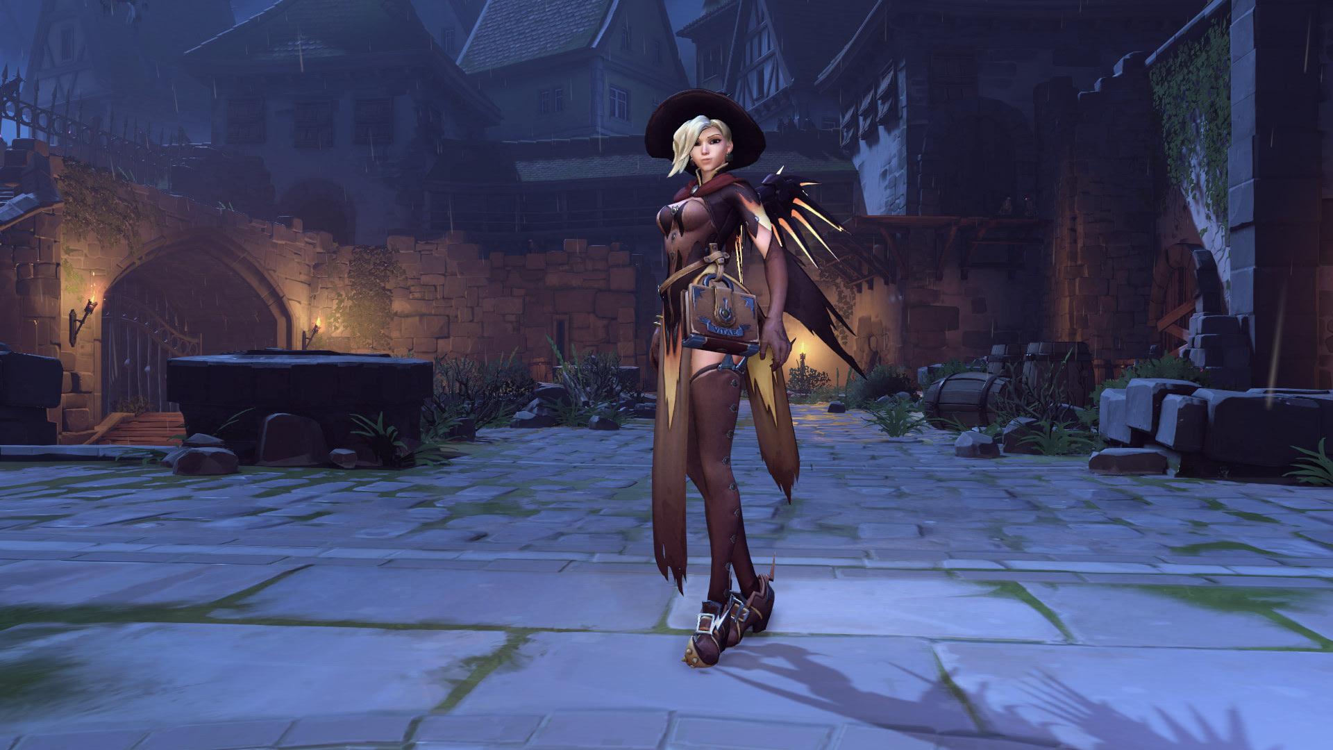 Mercy Overwatch Halloween Skin