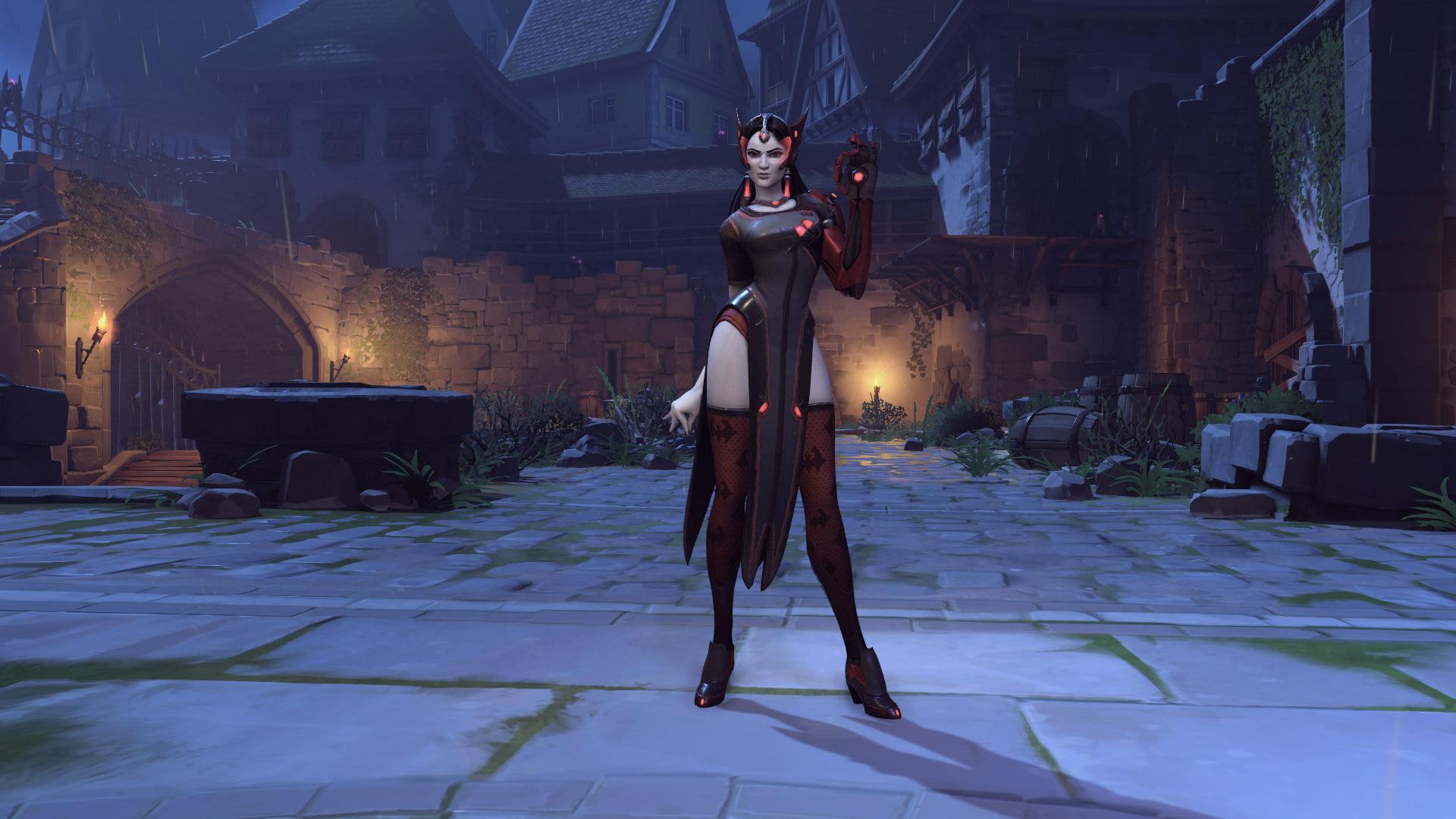 Symmetra Overwatch Halloween Skin