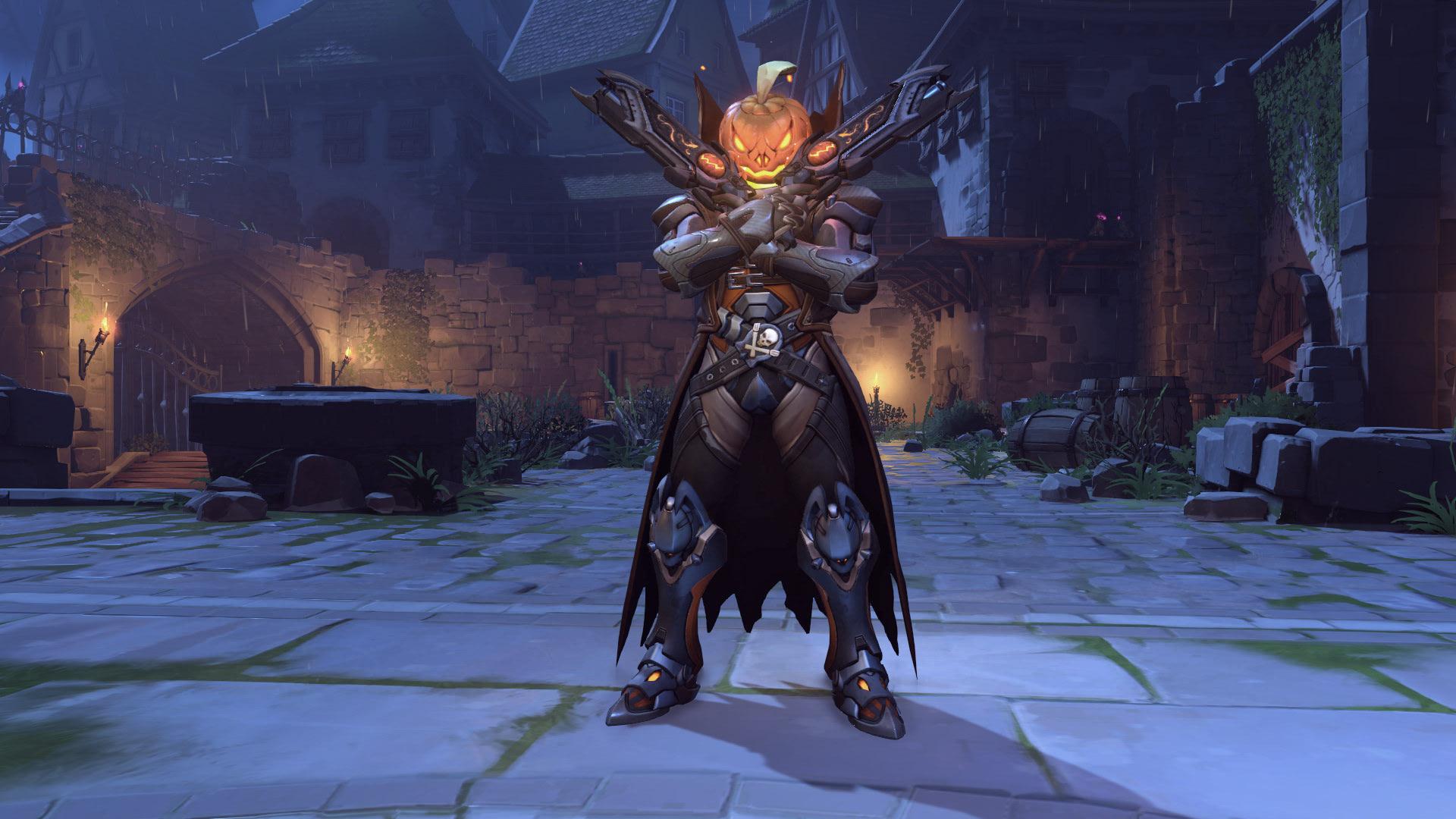Reaper Overwatch Halloween Skin