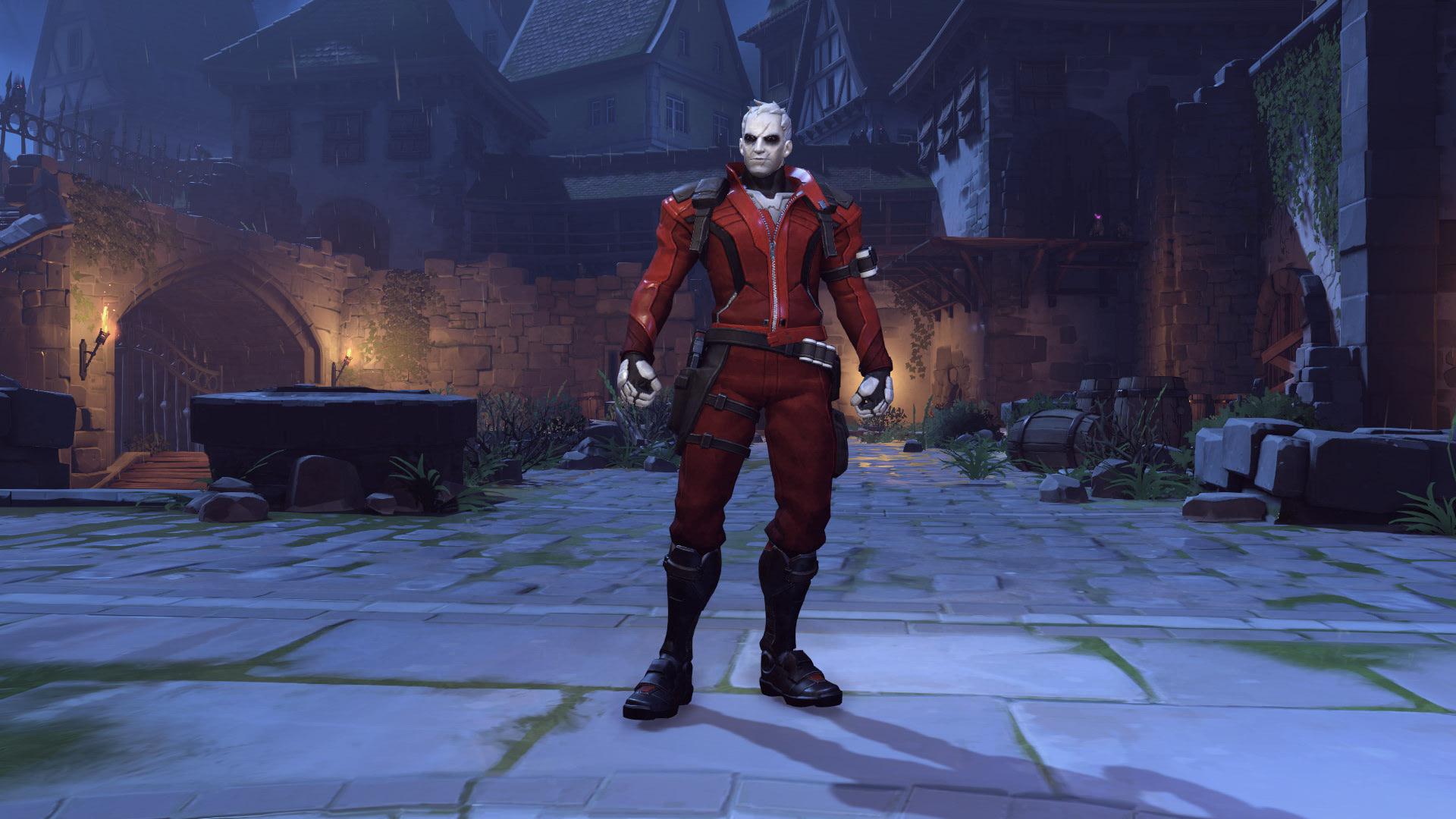Soldier 76 Overwatch Halloween Skin